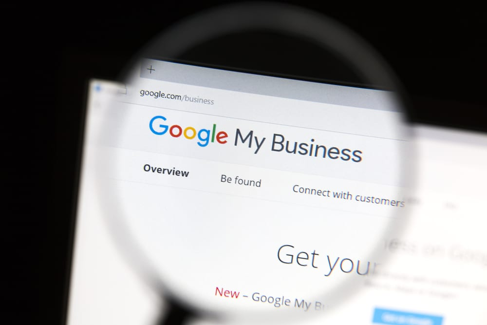 google my business get on map
